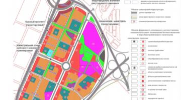 Проект планировки территории, ограниченной перспективной Ельцовской магистралью, перспективной городской магистралью непрерывного движения по ул. Бардина, перспективным продолжением Красного проспекта, в Заельцовском районе