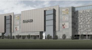 Планировочное решение здания торгового центра Каменка по ул. Ипподромская в Новосибирске