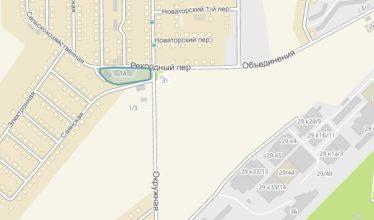 Земельный участок 0,39 Га ул. Фадеева Калининский район