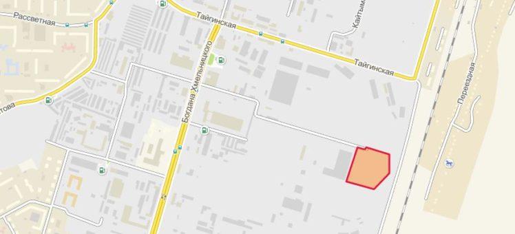 Земельный участок 0,5 - 2,74 Га ул. Тайгинская Калининский район