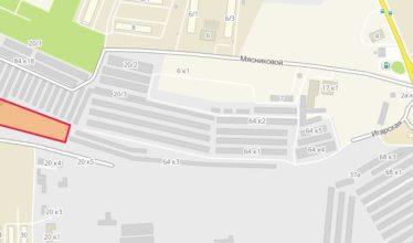 Земельный участок 0,82 Га ул. Фадеева Калининский район