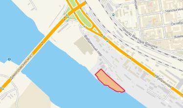 Земельный участок 1,20 Га Пристанский переулок Железнодорожный район