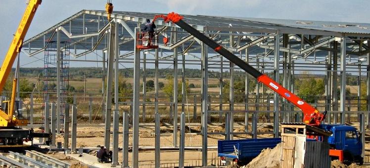 Строительство логистических центров складов ангаров под ключ Новосибирск