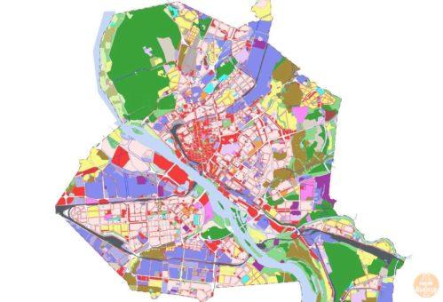 Основные виды территориальных зон Новосибирска и Новосибирской области