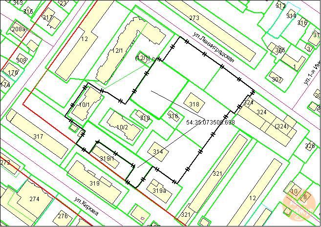 Площадь земельного участка 16222 кв. м