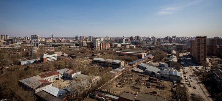 9 гектаров земли в самом центре Новосибирска продает оборонный завод