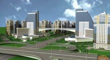 Проект комплексной застройкиЗаельцовского района Новосибирска