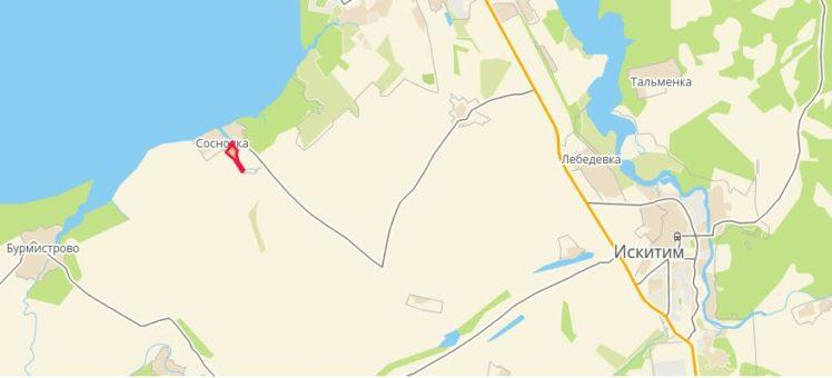 Земельный участок 32,37 Га Сосновка Искитимский район НСО