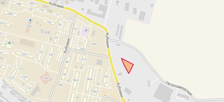 Земельный участок 0,21 Га ул. Кубовая Заельцовский район
