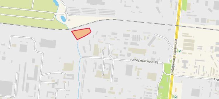 Земельный участок 1,57 Га Северный проезд Кировский район