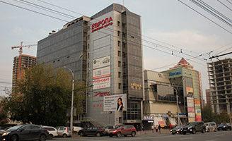 Красный проспект, 182 Деловой центр «Европа»