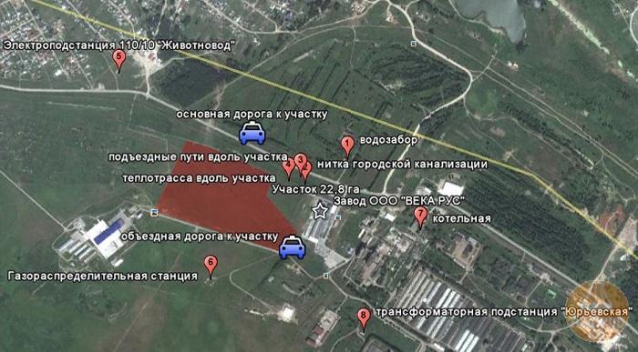 Земельные участки от 1,7 до 28 Га ул. Промышленная Криводановский сельсовет Новосибирский район