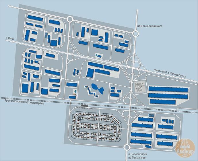 Концепция развития территории - план функционального зонирования