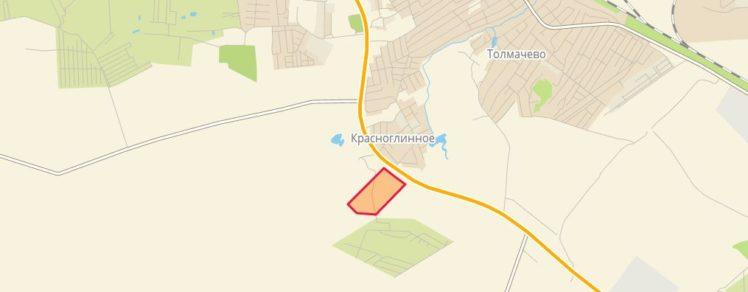 Земельные участки от 5 до 29 Га с. Красноглинное Толмачевский сельсовет