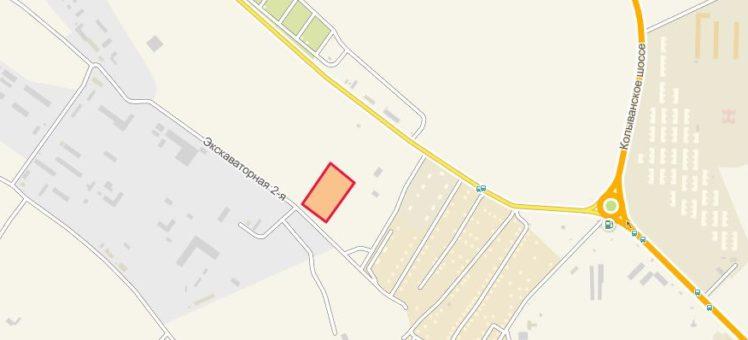 Земельный участок 1,55 Га 2-я Экскаваторная (Марусино) Новосибирский район