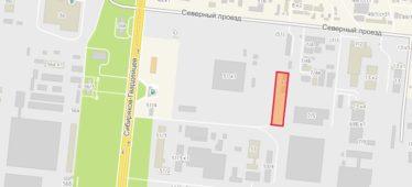 Земельный участок 0,60 Га Северный проезд Кировский район