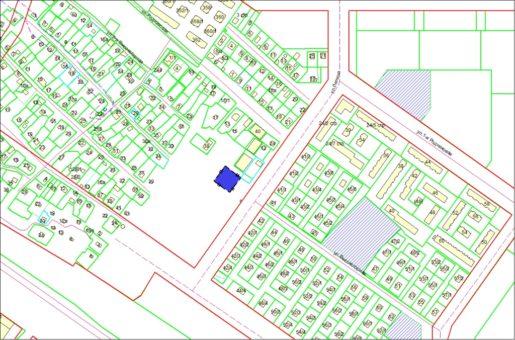 Схема расположения земельного участка – ул. 2-я Высокогорная, 42 – 0,1373 га