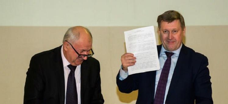 СРО АСОНО и Мэрия подписали соглашение о сотрудничестве