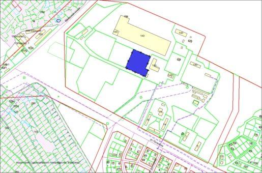 Схема расположения земельного участка – пр. Дзержинского, 140/3 – 1,0642 га
