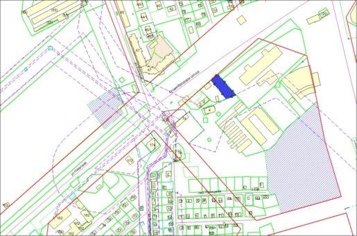 Схема расположения земельного участка – Гусинобродское шоссе – 0,1372 га