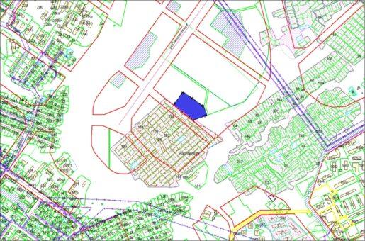 Схема расположения земельного участка – ул. Лобова – 1,4819 га