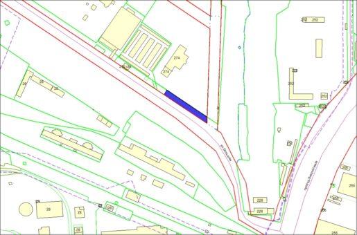 Схема расположения земельного участка – ул. Большая, 274а – 0,1528 га
