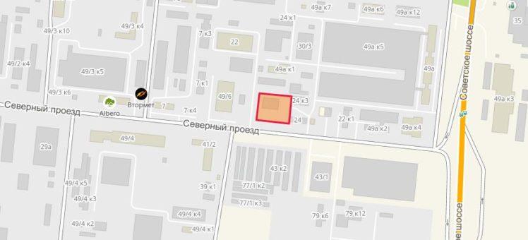 Земельный участок 0,45 Га Северный проезд Кировский район