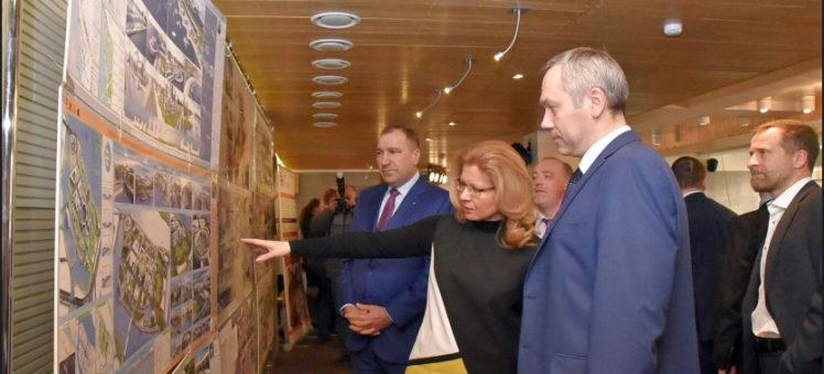 Травников обсудил со строителями Новосибирска перспективы развития отрасли