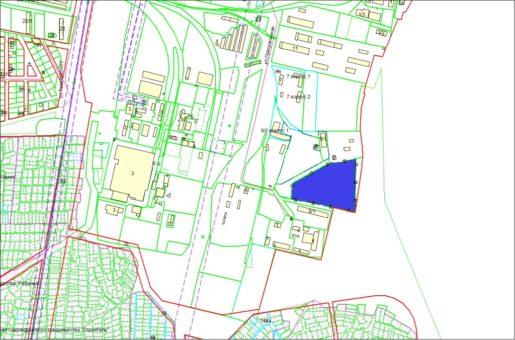 Схема расположения земельного участка по ул. Приграничной в Первомайском районе