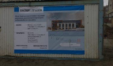 На участке по Военной в 0,36 га таки начали строительство бизнес-центра