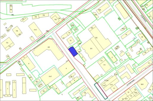 Схема расположения земельного участка – ул. Инженерная, 3 – 0,1469 га