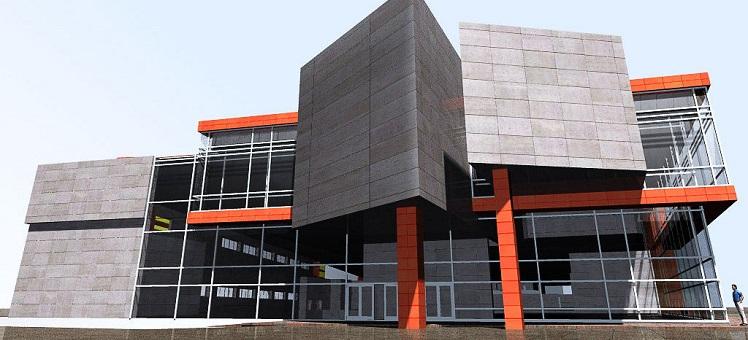 Строительство административных офисных зданий под ключ Новосибирск