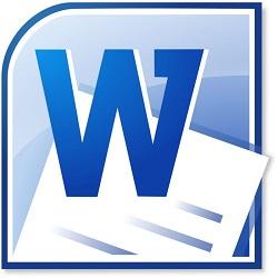 Microsoft word logo .doc