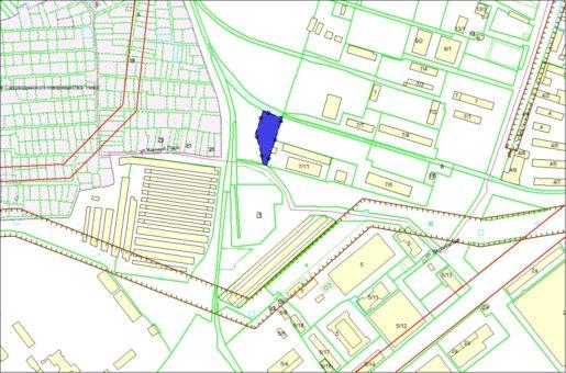 Схема расположения земельного участка – ул. Варшавская, 7в – 0,2521 га
