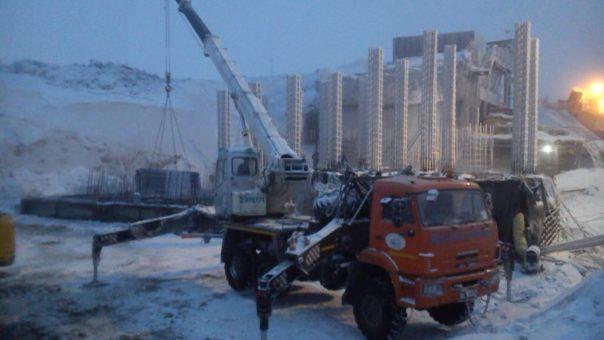 Строительство «Дробильного комплекса отделения рудоподготовки ЗИФ Олимпиадинского ГОК» Красноярский край