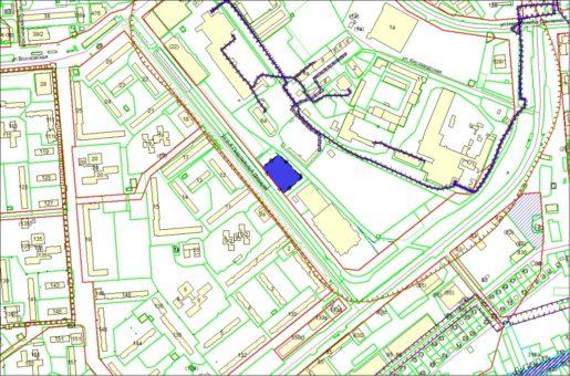 Схема расположения земельного участка по ул. 9-й Гвардейской Дивизии, 11б в Ленинском районе