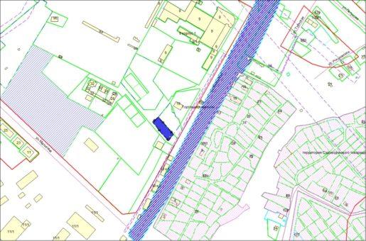 Схема расположения земельного участка – ул. Хилокская, 21/1 – 0,1006 га