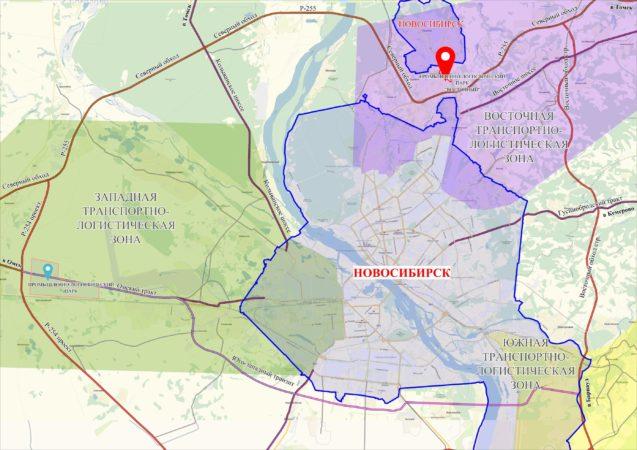 Схема расположения земельного участка ВПЛП Промышленно-логистический парк Восточный