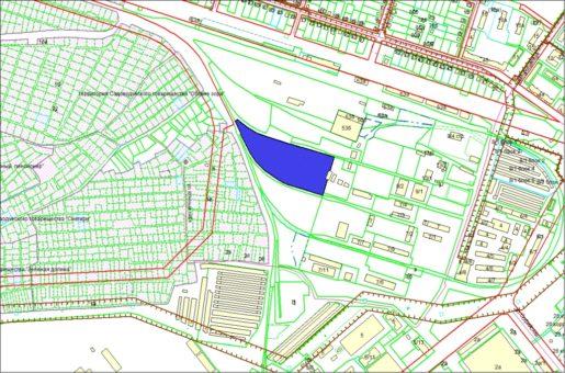 Схема расположения земельного участка по ул. Варшавской, 7а в Советском районе