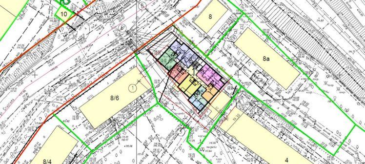 Земельный участок 0,156 Га ул. Спартака, 8 б, Железнодорожный район под строительство административного или жилого здания