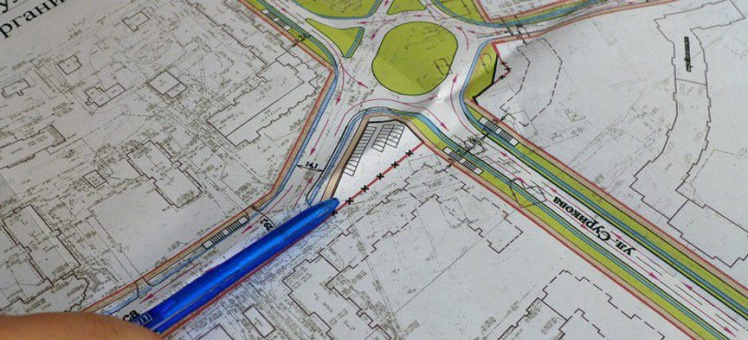 Перенос красных линий за границы земельного участка