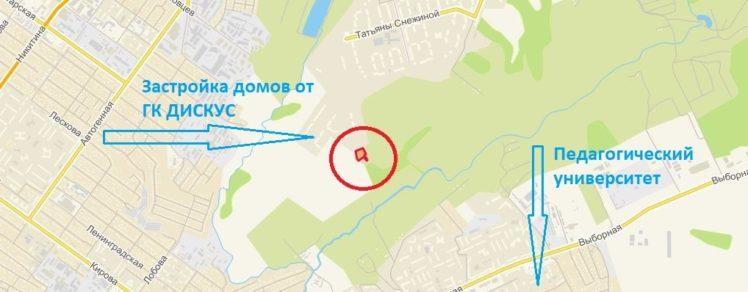 Земельный участок 0,48 Га ул. Высоцкого Хуторок Октябрьский район