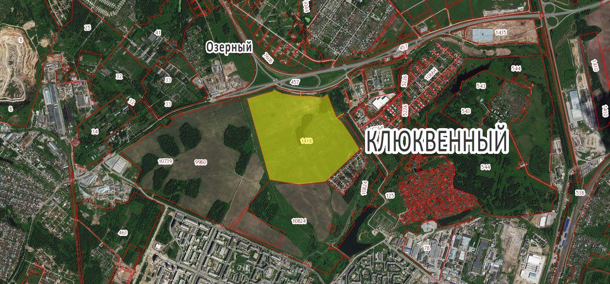 Земельный участок 93,0 Га Северный объезд Новосибирский район