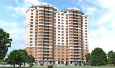 Расчет строительства 17-ти этажного односекционного дома с подземной парковкой