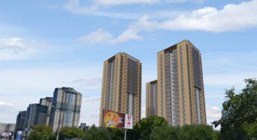 для размещения многоквартирных 26 — 50-этажных домов