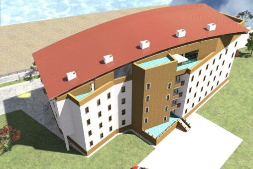Расчет строительства гостиничного комплекса 1500 кв.м под ключ
