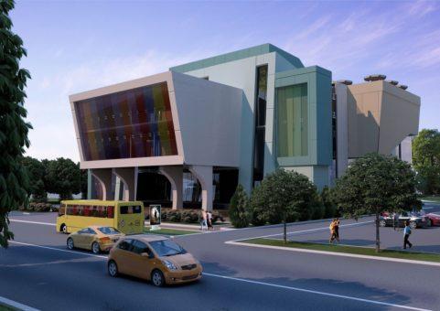 Проект строительства торгово-развлекательного комплекса 7000 кв.м