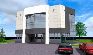 Расчет строительства 3-х этажного офисного здания 870 кв.м