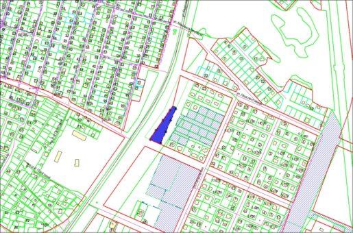 Схема расположения земельного участка по ул. Кедровой 4560 кв.м в Заельцовском районе