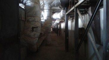 Тоннели рабочих печей завода